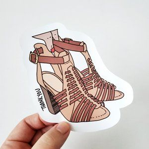 LB022 Shoe Lover Poshmark Stickers [Price Firm]